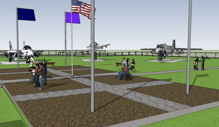 Legacy Flag Plaza Rendering 1